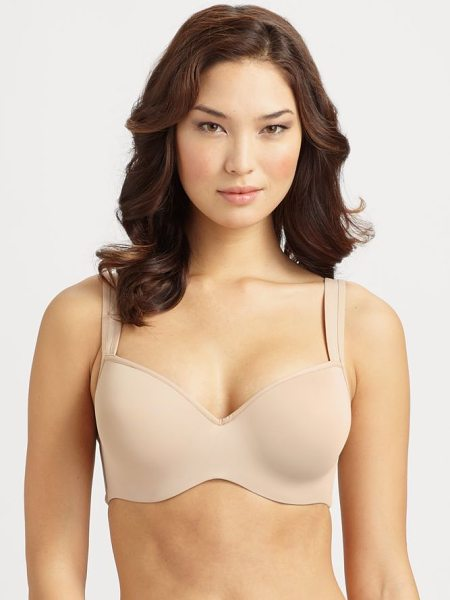 Le Mystere Full-figure dream t-shirt bra in natural - For a smooth, supportive true-to-size fit with excellent...