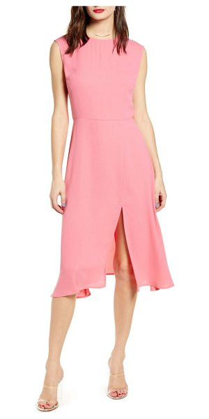 Leith chic midi dress in pink