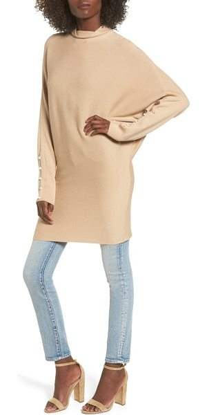 Leith dolman sleeve sweater in tan nomad - This supersoft and supremely cozy sweater with dolman...