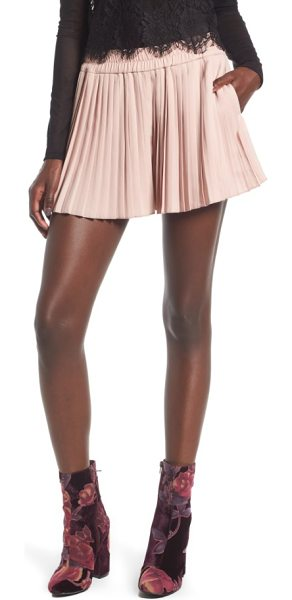 LEITH high waist pleat shorts - Finish your look with the fun, swingy silhouette of...