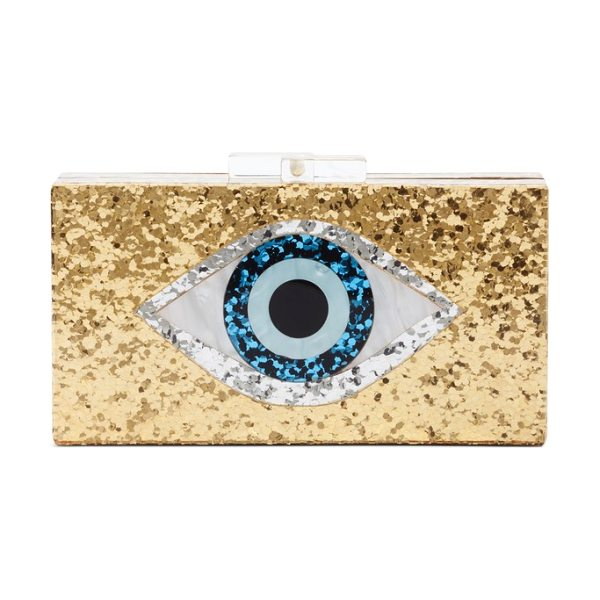 LEITH icon box clutch - All eyes will be on you when you carry this structured...