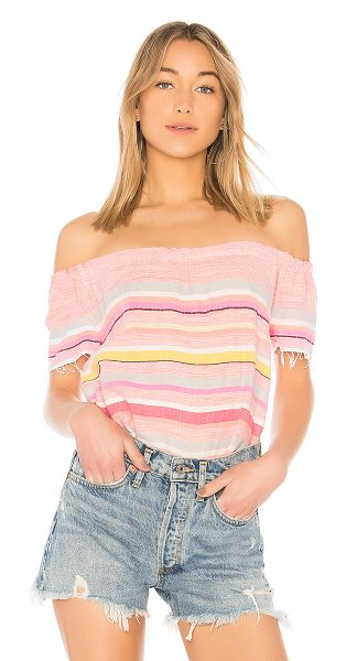 LEMLEM Yodit Top in pink - Lemlem's Yodit top is for spring to summer and every...