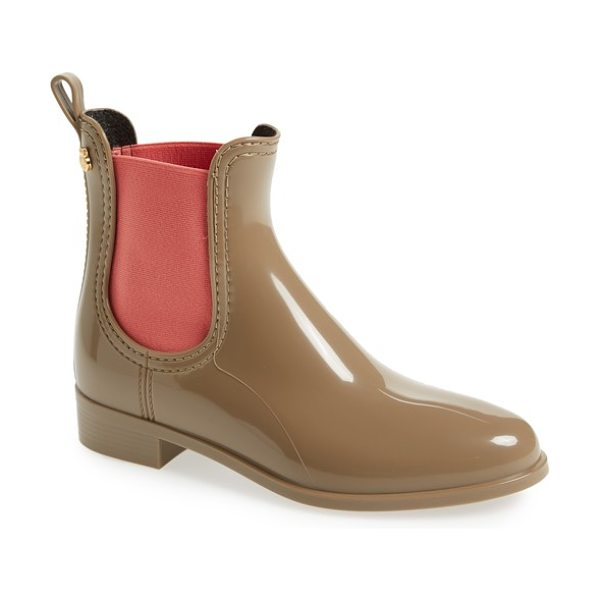 LEMON JELLY pisa waterproof chelsea boot - A lemony scent adds to the the fresh, sleek style of a...
