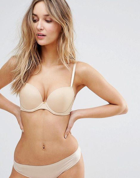 "LEPEL Lexi T-Shirt Bra A-G Cup in cream - """"Bra by Lepel, Smooth soft-touch fabric, Moulded cups,..."