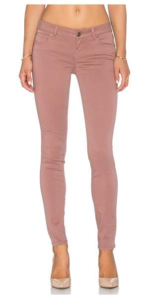 Level 99 Liza skinny in rose - 51% cotton 38% lyocell 8% rayon 3% spandex. Front and...