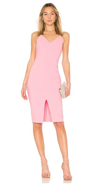 LIKELY Brooklyn Dress in pink - Self: 67% poly 27% rayonLining: 100% poly. Dry clean...