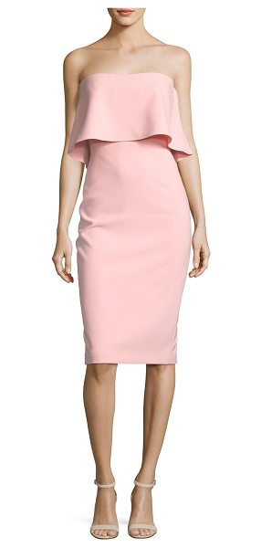 LIKELY Driggs Dress in pink - LIKELY ponte midi dress with a versatile silhouette for...
