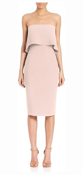 LIKELY driggs strapless dress in peony - Flirty strapless dress in body-con silhouette. Straight...
