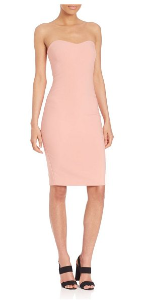 LIKELY lauren dress - Striking strapless dress in body-con silhouette....