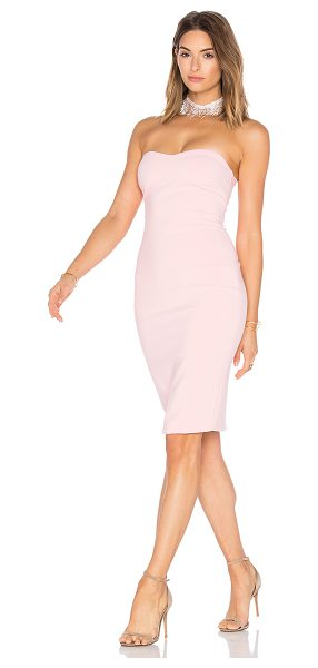 "LIKELY Laurens Dress in pink - ""Shell: 73% poly 22% rayon 5% spandexLining: 100% poly...."