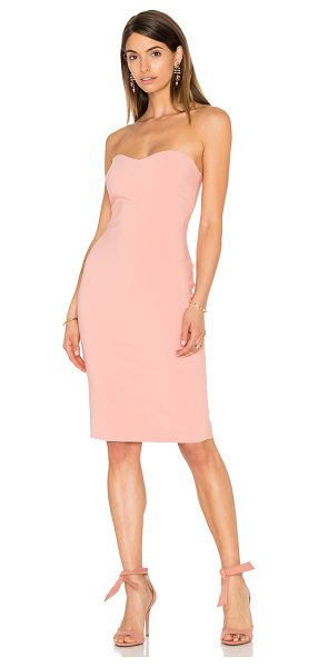 LIKELY Laurens Dress in blush - Poly blend. Dry clean only. Fully lined. Back slit....