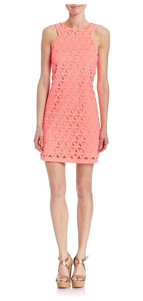 LILLY PULITZER Mango shift dress - Awe-inspiring cutout shift dress for a rich lookRound...
