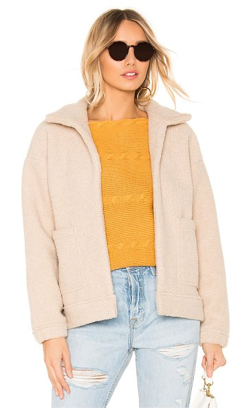 Line & Dot parker jacket in cream