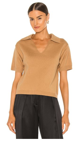 Line & Dot parker sweater top in camel