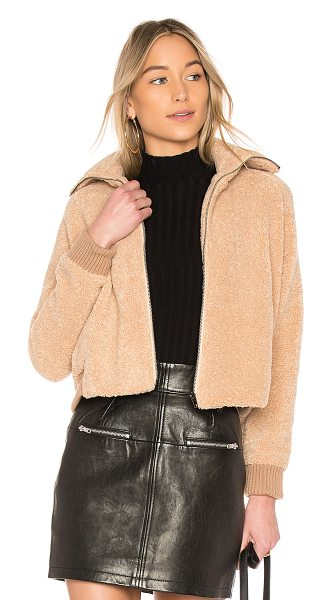 Line & Dot Victoria Jacket in brown - Faux Fur & Lining: 100% polyContrast: 90% acrylic 10%...
