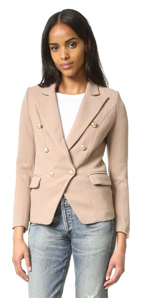 LIONESS palermo blazer - A double breasted Lioness blazer with an angular hem and...