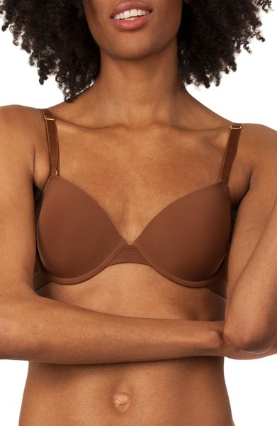 LIVELY the t-shirt bra in brown