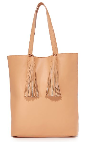 LOEFFLER RANDALL cruise tote - A roomy Loeffler Randall tote in smooth leather. 2 large...
