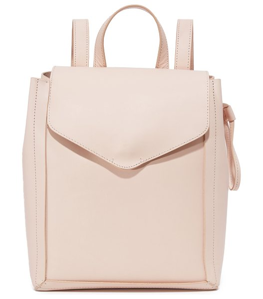 Loeffler Randall Mini backpack in sand - A structured Loeffler Randall backpack in smooth...