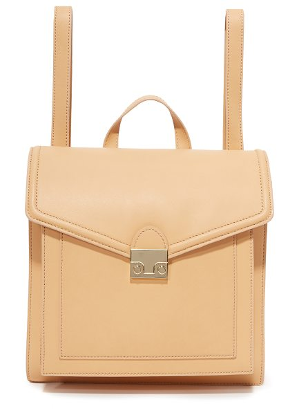 LOEFFLER RANDALL rider backpack in natural - This versatile Loeffler Randall bag can be carried as a...