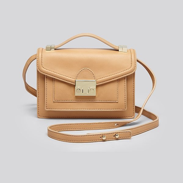 LOEFFLER RANDALL Rider Mini Nappa Leather Crossbody - Loeffler Randall Rider Mini Nappa Leather Crossbody-Handbags