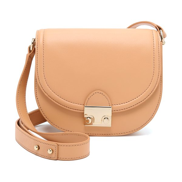 Loeffler Randall Saddle bag in natural - A simple Loeffler Randall cross body bag in...