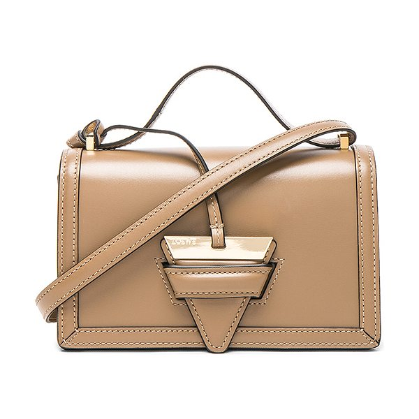"LOEWE Barcelona Small Bag in brown - ""Calfskin leather with leather lining and gold-tone..."