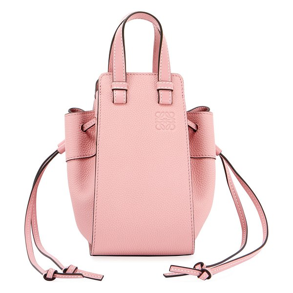 Loewe Hammock Mini Classic Shoulder Bag in light pink