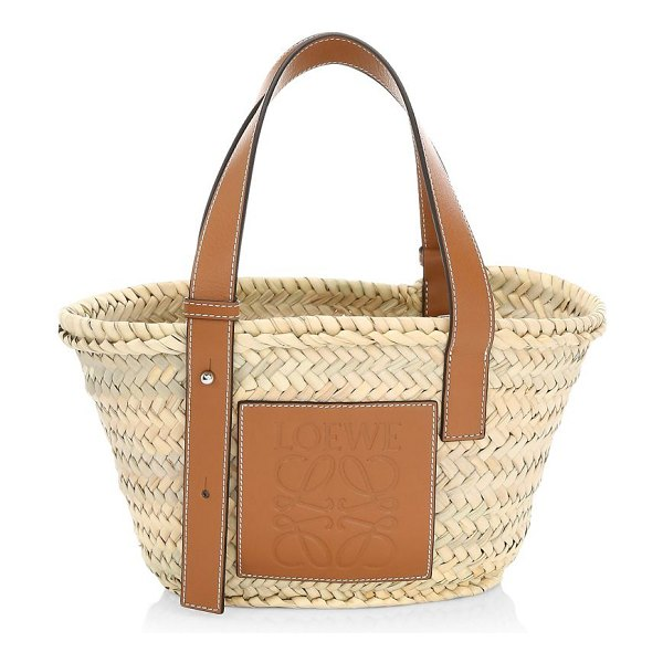 Loewe mini basket bag in tan