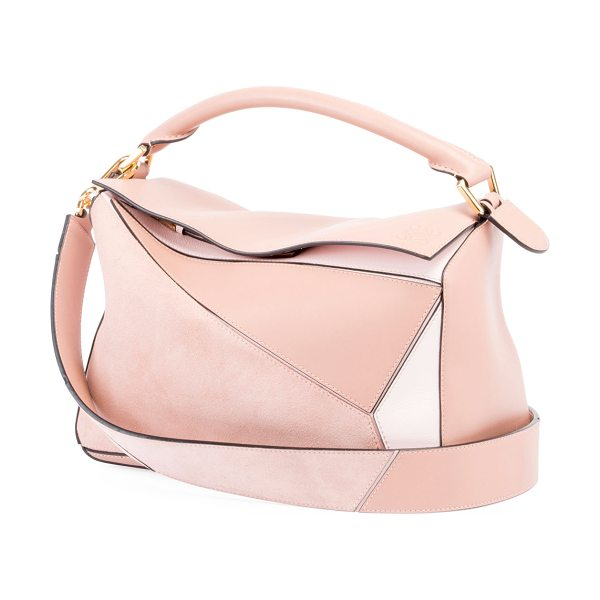 Loewe Puzzle Small Bag in blush