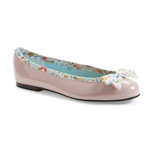 London Sole liberty print ballet flat in pale pink - In an exclusive collaboration with Liberty of London,...