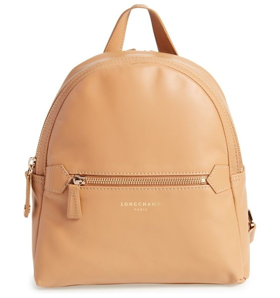 LONGCHAMP 2.0 small leather backpack - Clean lines highlight the contemporary silhouette of a...