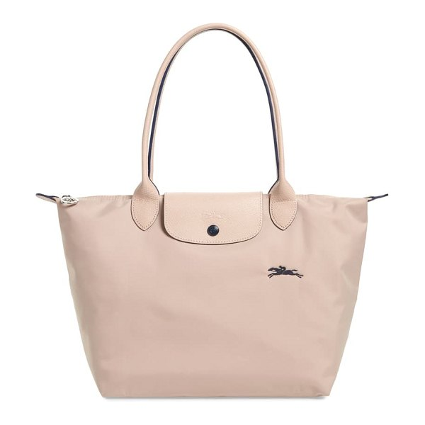 Longchamp le pliage club small shoulder tote in pink