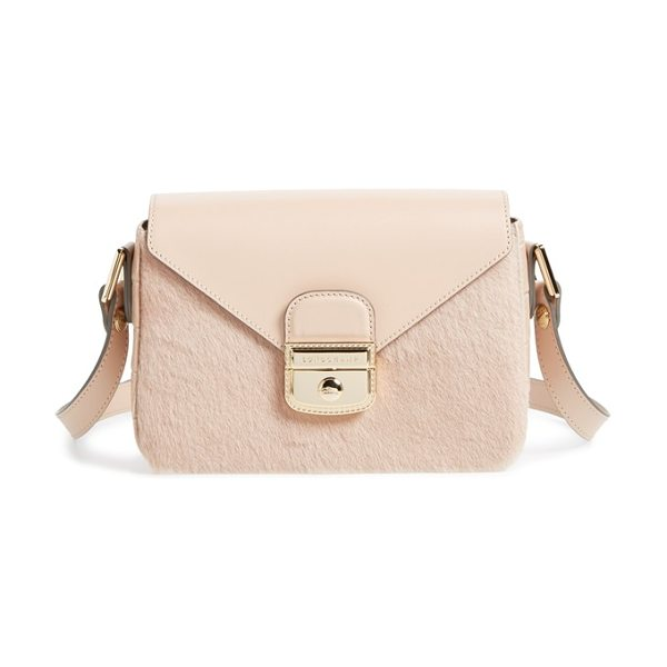 Longchamp Le pliage- heritage crossbody bag in powder - A chic addition to Longchamp's signature Heritage line,...