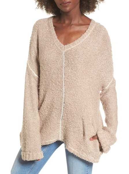 LOST AND WANDER voyage knit sweater in mocha