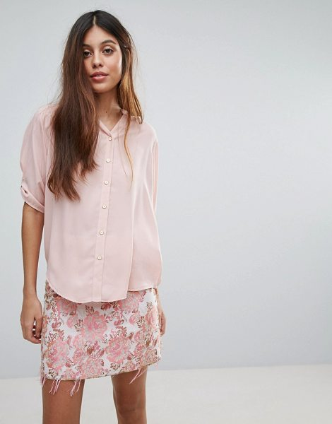 """LOUCHE Farrow Blouse - """"""""Top by Louche, Lightweight woven fabric, Round neck,..."""