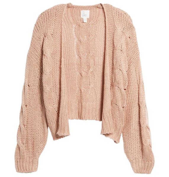 LOVE LIKE SUMMER X BILLABONG boxy cardigan - Part of Billabong's ode to the spirit of endless summer,...