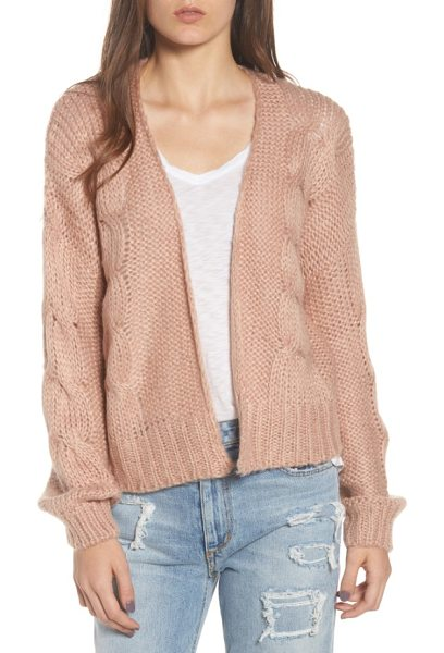 LOVE LIKE SUMMER X BILLABONG boxy cardigan in opal - Part of Billabong's ode to the spirit of endless summer,...