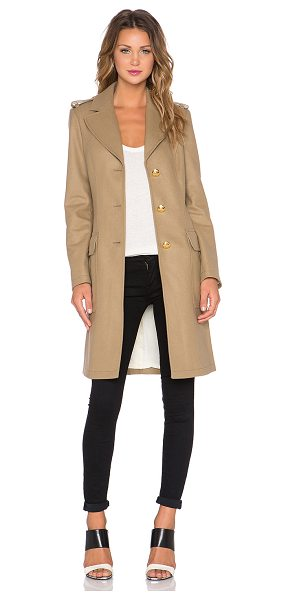 LOVE MOSCHINO Two pocket coat - Shell: 80% virgin wool 20% polyamideLining: 100%...