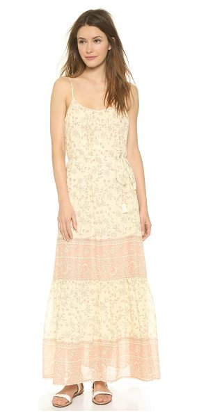 Love Sam Avery maxi dress in blush combo - A lightweight Love Sam maxi dress with a breezy drape...