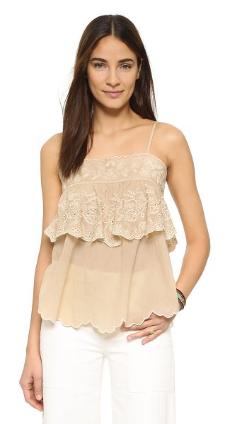 Love Sam Love Sam Seraphina Top in natural/cream - A shoulder baring Love Sam top with a draped fit....