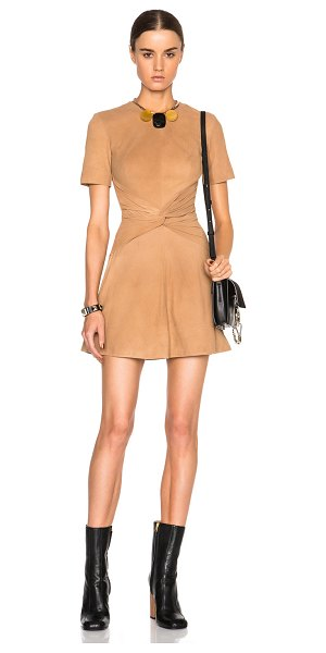 Lover Lando mini dress in neutrals