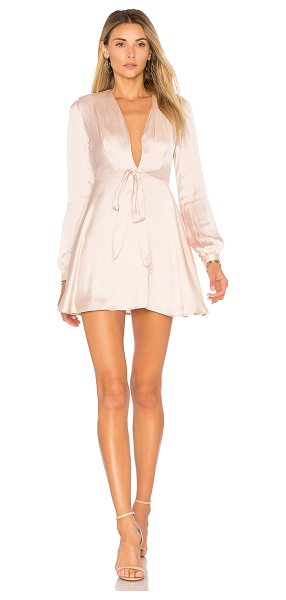 Lovers + Friends 4th Ave Dress in nude - Uptown style meets whimsy design in Lovers + Friends'...