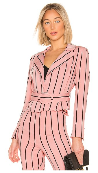 Lovers + Friends Alaina Blazer in pink - For the professional gal who keeps her style in check,...