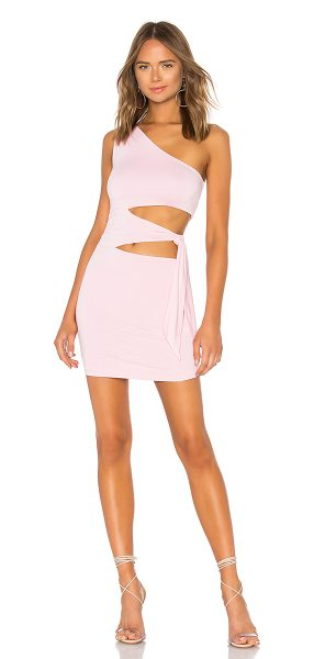 Lovers + Friends Alexander Dress in pink - Flaunt a flash of abs with the Lovers + Friends...