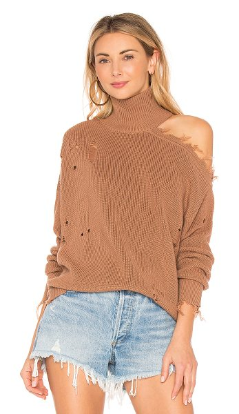 Lovers + Friends Arlington Sweater in tan - Take your wardrobe to the next level with Lovers +...