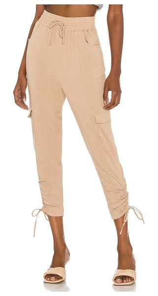 Lovers + Friends austin pant in natural