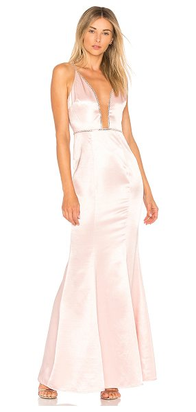 Lovers + Friends Blair Gown in pink - Steal the spotlight with Lover + Friends? Blair Gown....