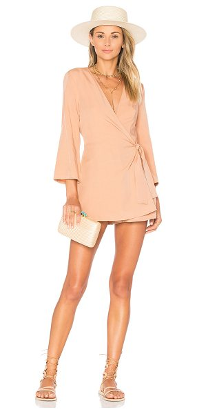 "Lovers + Friends Crush Romper in blush - ""Crushing hard for the simplicity of it all. Lovers +..."