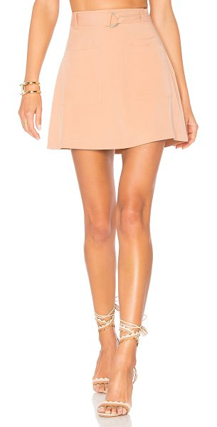"Lovers + Friends Brighton Skirt in blush - ""The mini temptations in life. The Brighton Skirt from..."